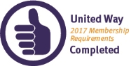 United Way 2017 Membership Requirements Completed