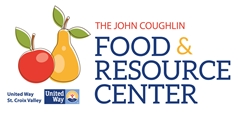 The John Coughlin Food & Resource Center logo