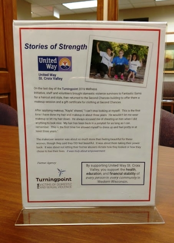 Stories of Strength campaign flyer